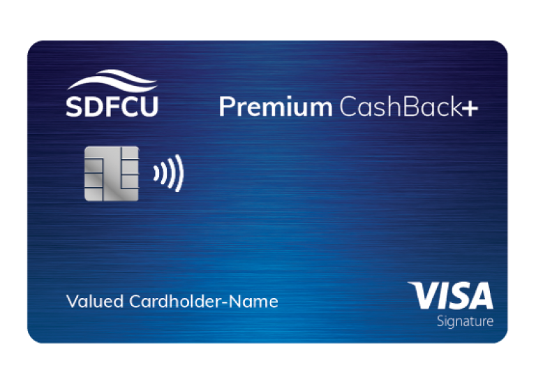 premium cash back+ card